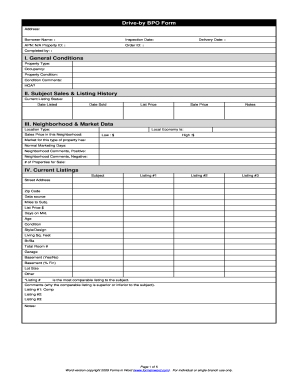 2055 Appraisal - Fill Online, Printable, Fillable, Blank | PDFfiller