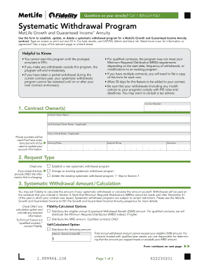 Editable Metlife annuity forms - Fillable & Printable Online Forms ...