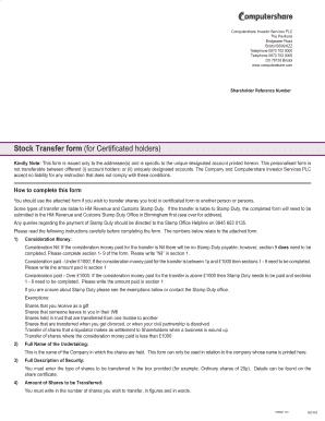 Computershare Beneficiary Designation Form - Fill Online ...