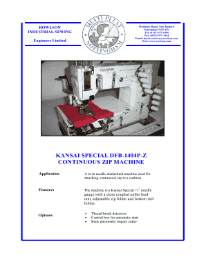 Kansai 1404 Pmd Parts Book Pdf - Fill Online, Printable, Fillable