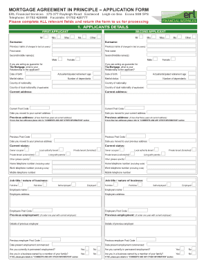 Rate This Form  Mortgage Agreement Form