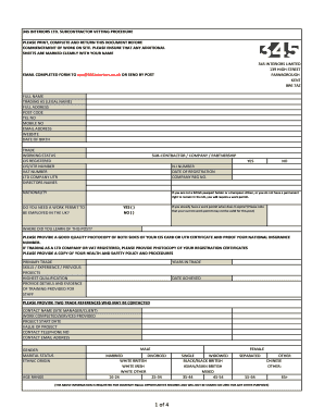 15213209 Vetting Application Invitations Forms on
