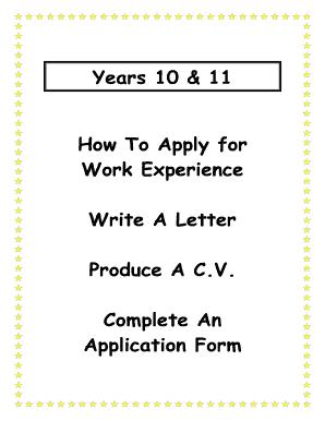 Printable Cover Letter For Work Order
