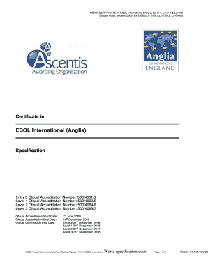 Fillable Online Certificate in - Ascentis Fax Email Print