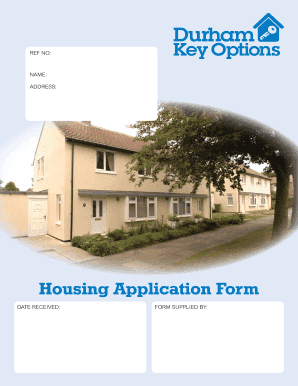 Housing Application Form Durham County Council, Durham Housing Application Fill Online Printable Fillable Blank Pdffiller, Housing Application Form Durham County Council