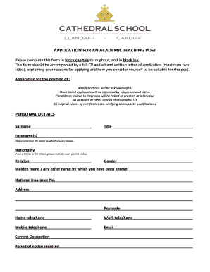 letter applicaties fillable tes co application for an academic 5302