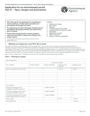 Lincolnshire IBA Application Form F1 - FCC Environment
