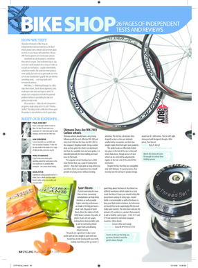 CyclingPlus Dec06 Test PDF - ulc.co.uk