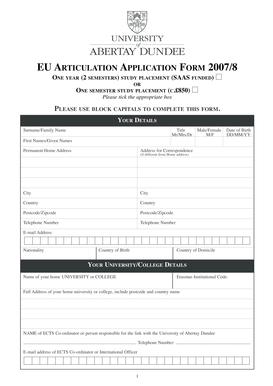 fillable online eu application form pdf fax email print pdffiller