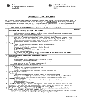 Fillable Online Dubai Diplo General Requirements Schengen Visa Category C Vfs Global Dubai Diplo Fax Email Print Pdffiller