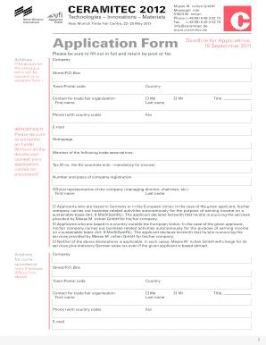 Uf Application Deadline >> Fillable Online Application Form Deadline For Applications