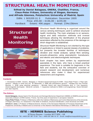 structural health monitoring by daniel balageas form