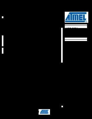 Fillable Online USB DFU Bootloader Datasheet - Atmel