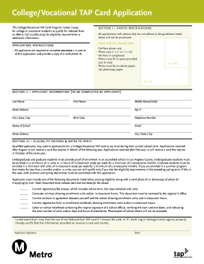 College I Card Application Form - Fill Online, Printable, Fillable ...