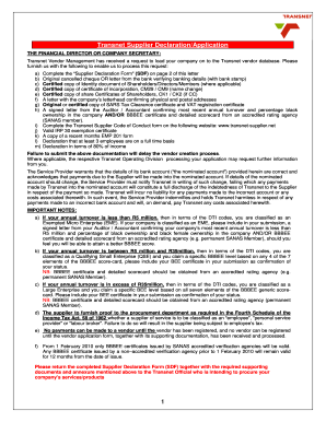 Transnet Jobs Application Forms