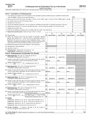 Arizona Form 221 - taxhow