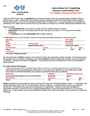 Submit Bcbsil Enrollment Form And Document Samples