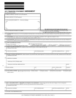 Fillable Form Ucc3 - Fill Online, Printable, Fillable, Blank ...