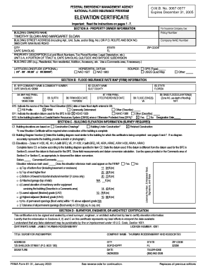 omb 3067 0077 form