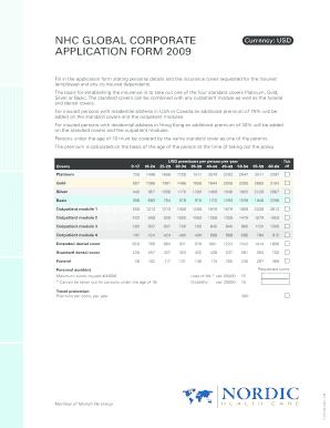 nhc corporate jobs - Edit, Fill, Print & Download Best ...