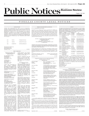 gulf coast business review legal notices form
