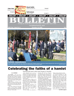Celebrating the faiths of a hamlet - Islip Bulletin