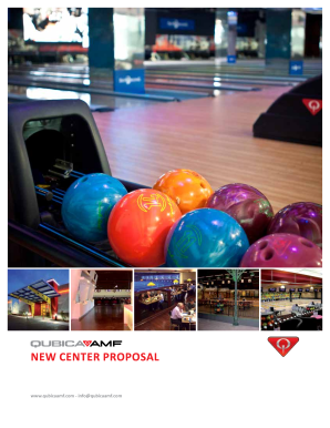New CeNter ProPosal - Let's Go Bowling