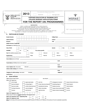 Tshwane South College - Fill Online, Printable, Fillable