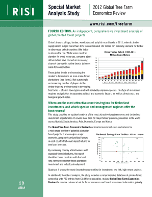 Global Tree Farm Economics Brochure - Forestry South Africa