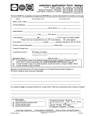 Inscape Online Application - Fill Online, Printable, Fillable ...