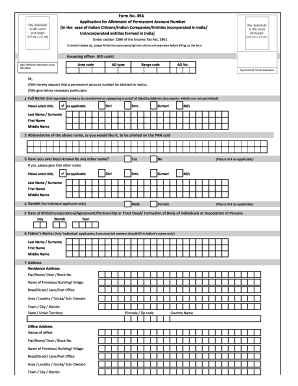 Pan card correction application form pdf download