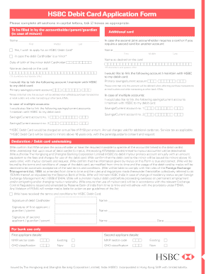 Hsbc application form for debit card fill online printable hsbc application form for debit card thecheapjerseys Gallery