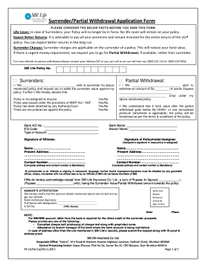 sbi life policy assignment form