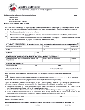 Texas motor vehicle transfer notification form vtr 346 for Motor vehicle history report free