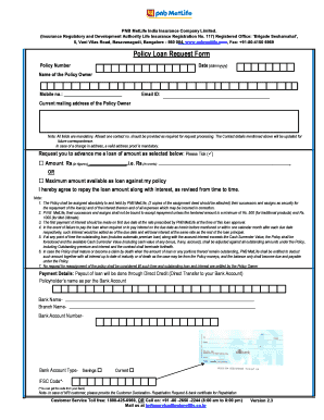 Metlife Loan Form - Fill Online, Printable, Fillable, Blank ...