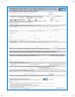 photo about Common Application Printable titled Uti Popular Computer software Type - Fill On line, Printable
