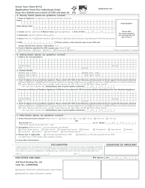 Kyc Citibank India - Fill Online, Printable, Fillable, Blank