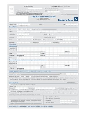 international bank details form