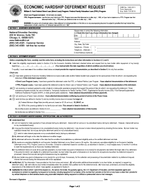 Illinois Student Loan Unemployment Deferment Request Form Omb No 1845 0011