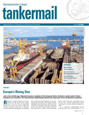Tankermail Germanischer Lloyd - Fill Online, Printable