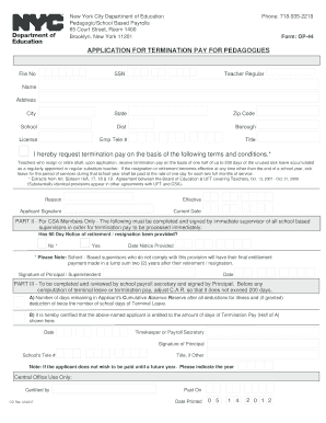Op44 - Fill Online, Printable, Fillable, Blank | pdfFiller