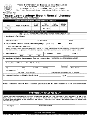 Barber License Texas ~ Tuny for .