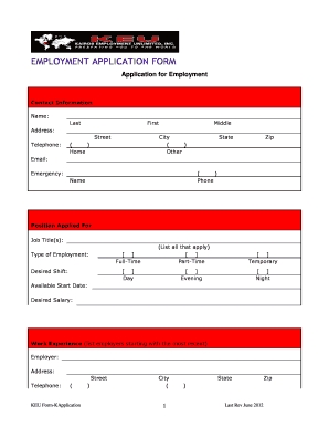 16104593 Sample Job Application Form Fillable on letter for fresher high school graduate, letter for receptionist high school graduate, letter teacher, status email, form ireland, letter introduction for, cover letter template, personal statement, approved information for, letter intent, writing email for, high school,