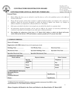 Crb Tanzania - Fill Online, Printable, Fillable, Blank