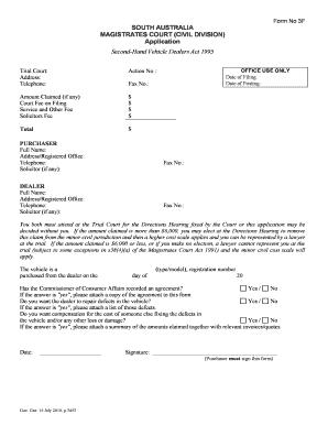 pdf application forms for guardianship south australia