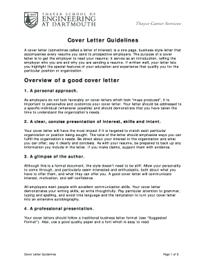 letter of interest cover letter form