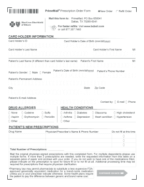 Texas Prime Mail Prior Authorization Form - Fill Online, Printable ...