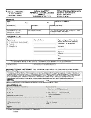 request for leave of absence pdf form