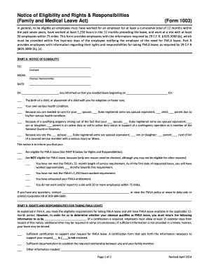 Fillable Online hr duke (Form  1003) - Duke University - hr duke Fax