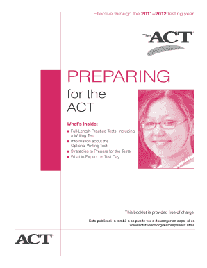 20 Printable act practice test 2016 Forms and Templates ...